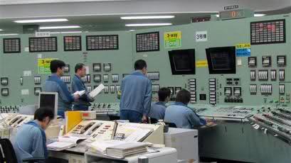 фотография с японской атомной станции